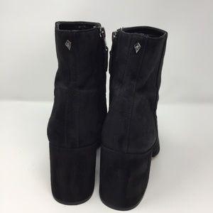"Sam Edelman Shoes - Sam Edelman Suede 3"" Chunky Heel Booties Size 8.5"